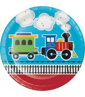 Assiettes Petit Train