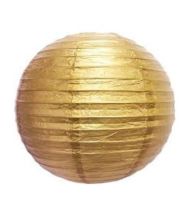 Goldener Lampion