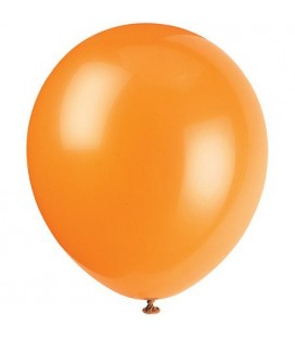 10 Orange Luftballons
