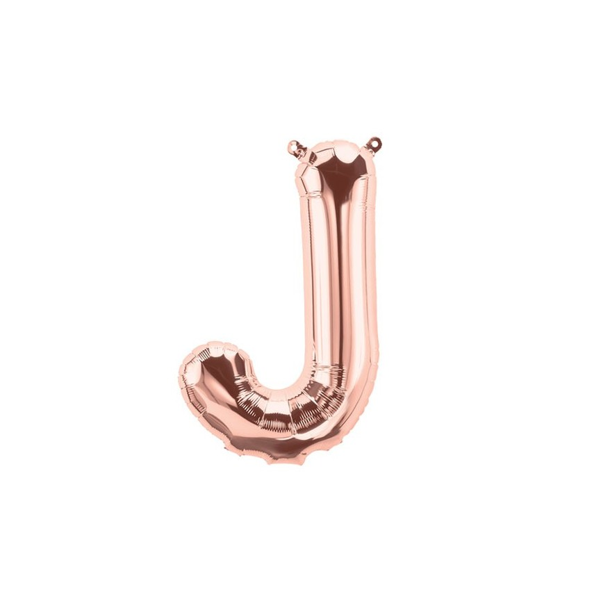 Ballon Mylar Rose Gold J