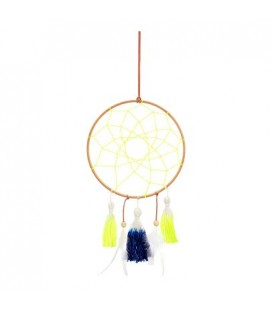 Blue & Yellow Dream Catcher