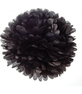 Small Black Pom Pom