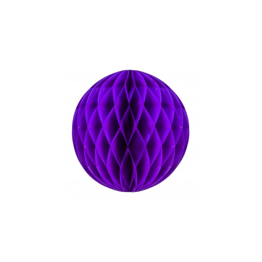 Big Purple Honeycomb Ball