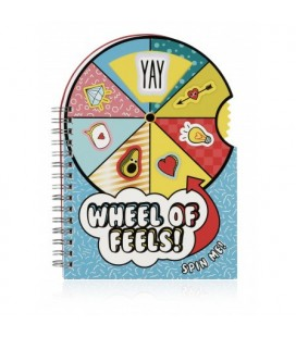 Wheel of Feels Notebooks
