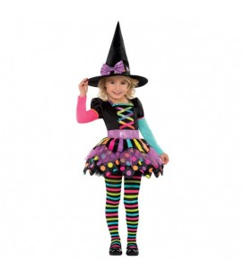 Miss Matched Witch Kids Costume