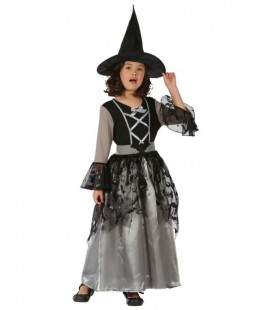 Witch Costume Black & Grey