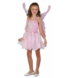 Pink Fairy Kids Costume in luxury version