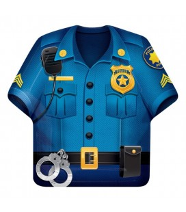 Police Party Shirt Plates