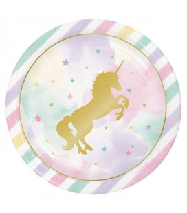 Unicorn Sparkle Plates