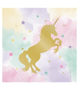 Serviettes Unicorn Sparkle