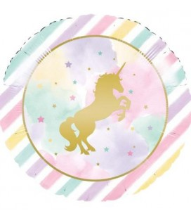 Unicorn Sparkle Mylar Folienluftballon