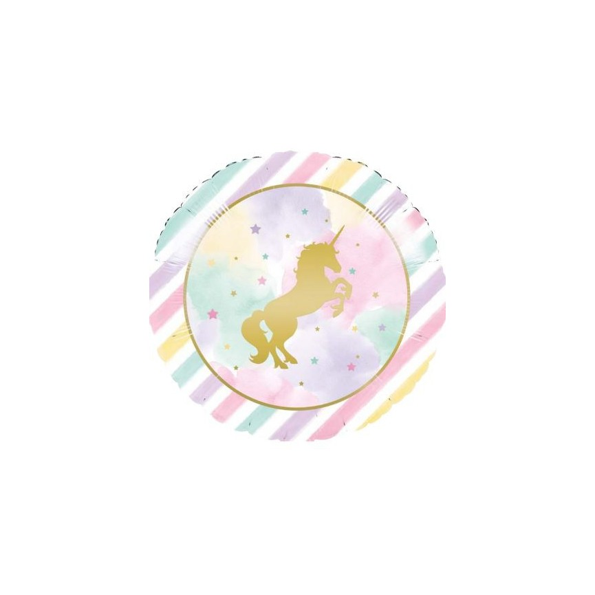 Ballon Mylar Unicorn Sparkle
