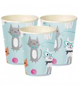 Cat Party Becher
