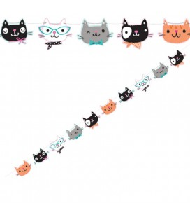 Cat Party Garland