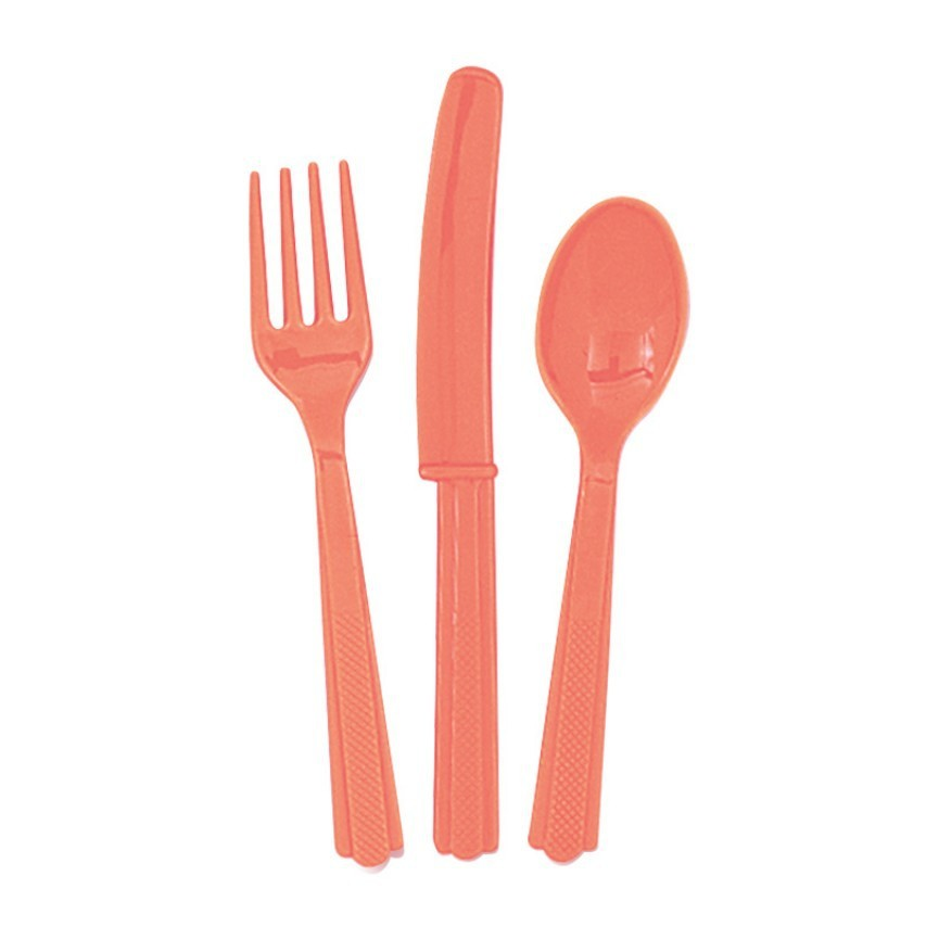 18 COUVERTS CORAIL