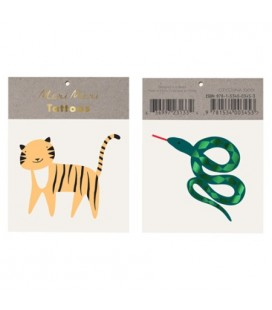 Jungle Temporary Tattoos