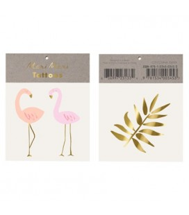 Flamingo Temporary Tattoos