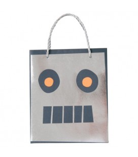Space Robot Treat Bags