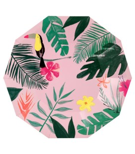 Tropical large plates