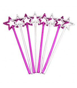 8 Mini Star Wands