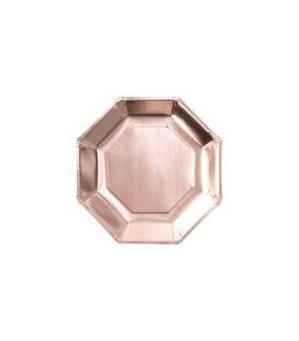 Rose Gold Plates