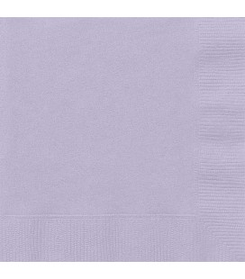 20 Lavender Lunch Napkins