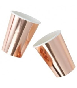 Rose Gold Becher