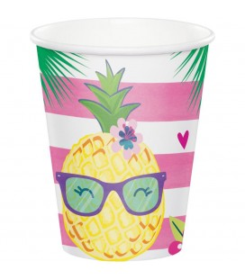 Pineapple Friends Cups