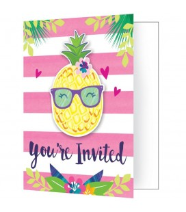 Pineapple Invitations