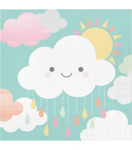 Happy Clouds Luncheon Napkins