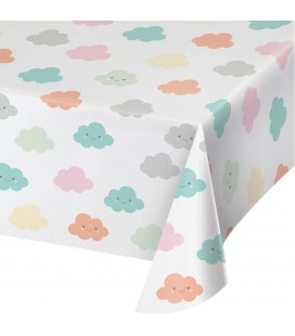 Happy Clouds Tablecover