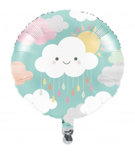 Happy Clouds Mylar Balloon