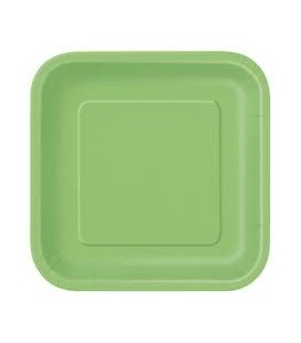 14 Grandes Assiettes Lime
