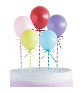 Mini Balloons Cake Topper