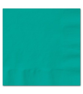 20 Turquoise Lunch Napkins