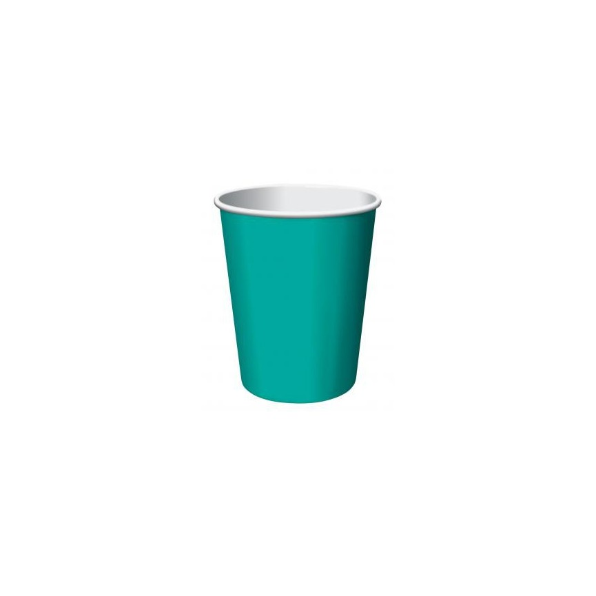 14 Turquoise Cups