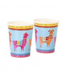 Boho Party Lama-Becher