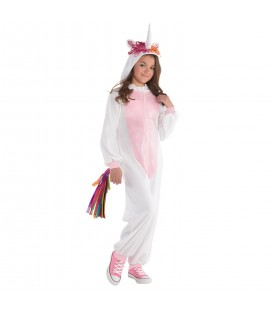 Children's Costume Unicorn Zipster