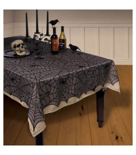 Lace Tablecloth Midnight