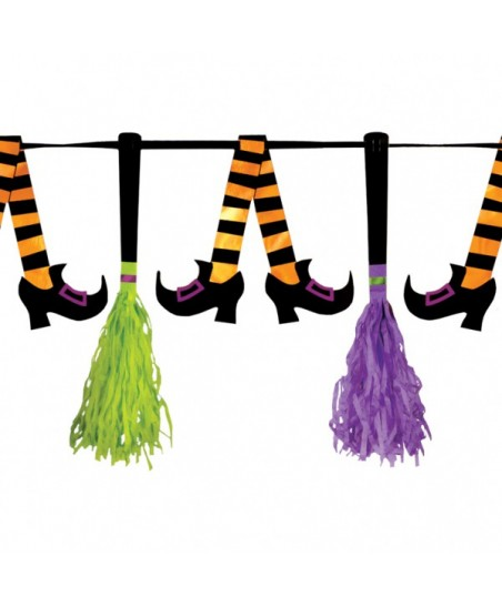 Tassel Pennant Banner Witches' Crew