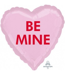 "Ballon Mylar Coeur ""Be Mine"""