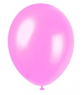 8 Pearlized Crystal Pink Balloons