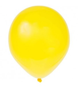 8 Pearlized Cajun Yellow Balloons