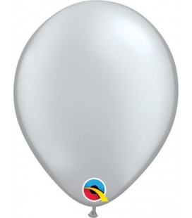Silver Mini Balloon 13cm
