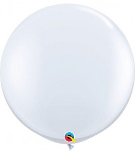 White Giant Balloon 90 cm