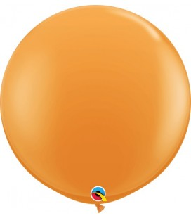 Orange Giant Balloon 90 cm