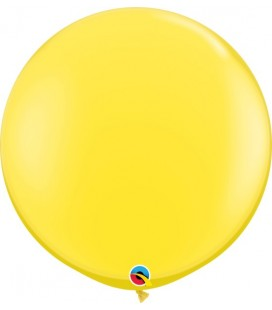 Yellow Giant Balloon 90 cm