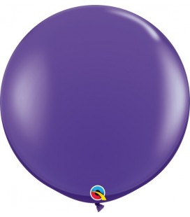 Purple Giant Balloon 90 cm