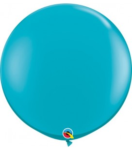 Tropical Teal Giant Balloon  90 cm
