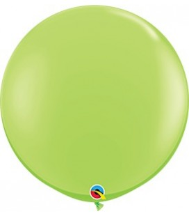 Lime Green Giant Balloon 90 cm